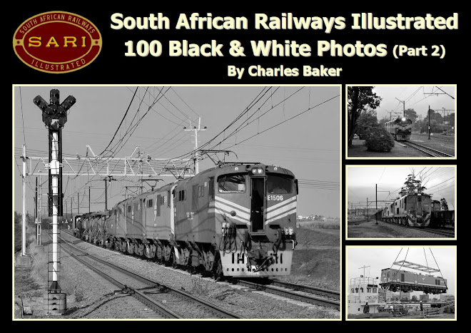 SOUTH AFRICAN RAILWAYS ILLUSTRATED - 100 BLACK & WHITE PHOTOS (PART 2)