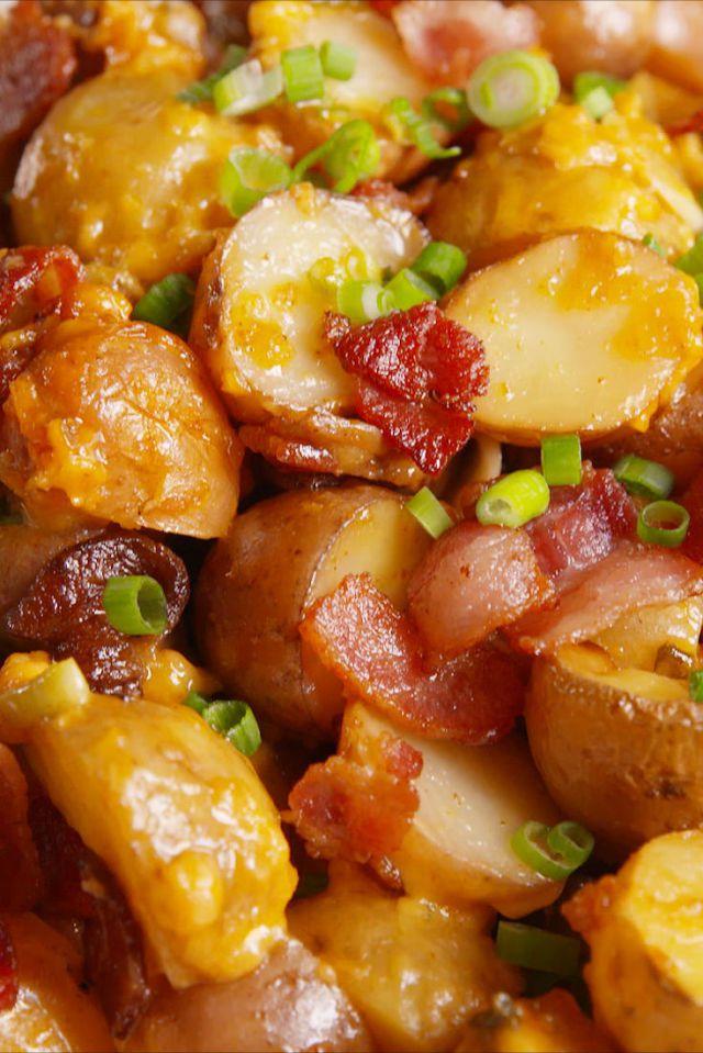 Loaded Slow-Cooker Potatoes Recipe
