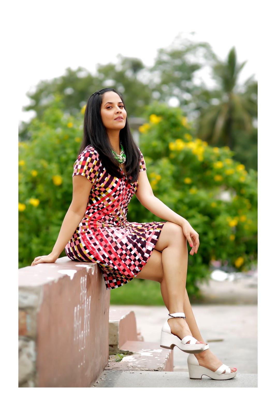 Desi Actress Pictures Anchor Anasuya Latest Beautiful -5330