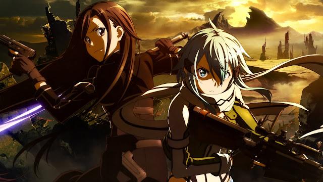 Kirito And Shinon Sword Art Online Wallpaper HD