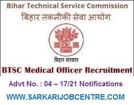 Bihar Medical Officer Vacancy 2021 6338 post Apply Online