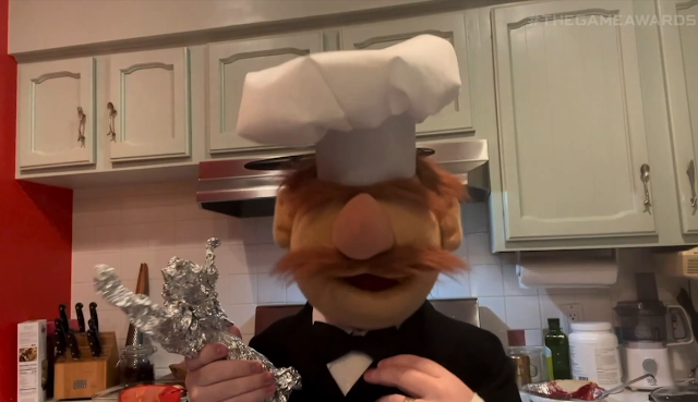 The Game Awards 2020 Swedish Chef Muppets sketch bit kitchen