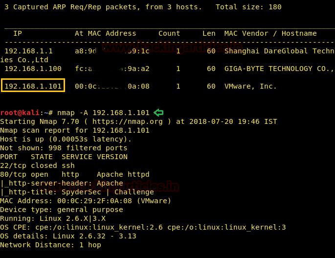 Hack the SpyderSec VM (CTF Challenge)