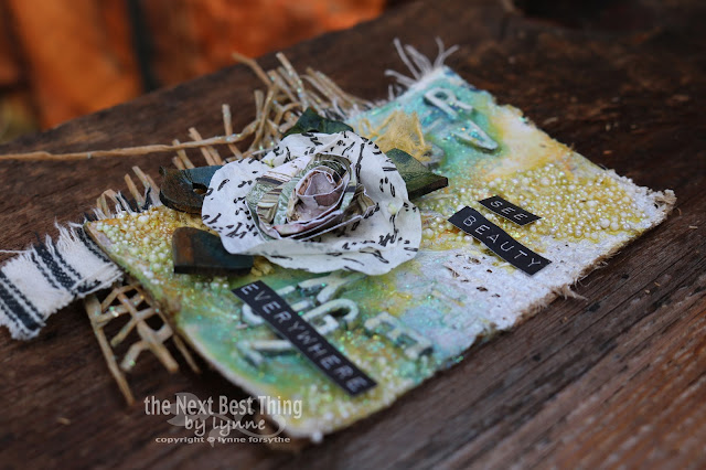 See Beauty ATC by Lynne Forsythe