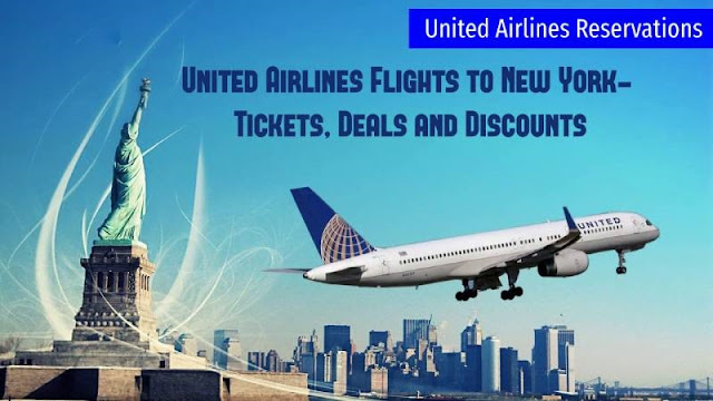 United Airlines Flights To New York- Tickets, Deals And Discounts
