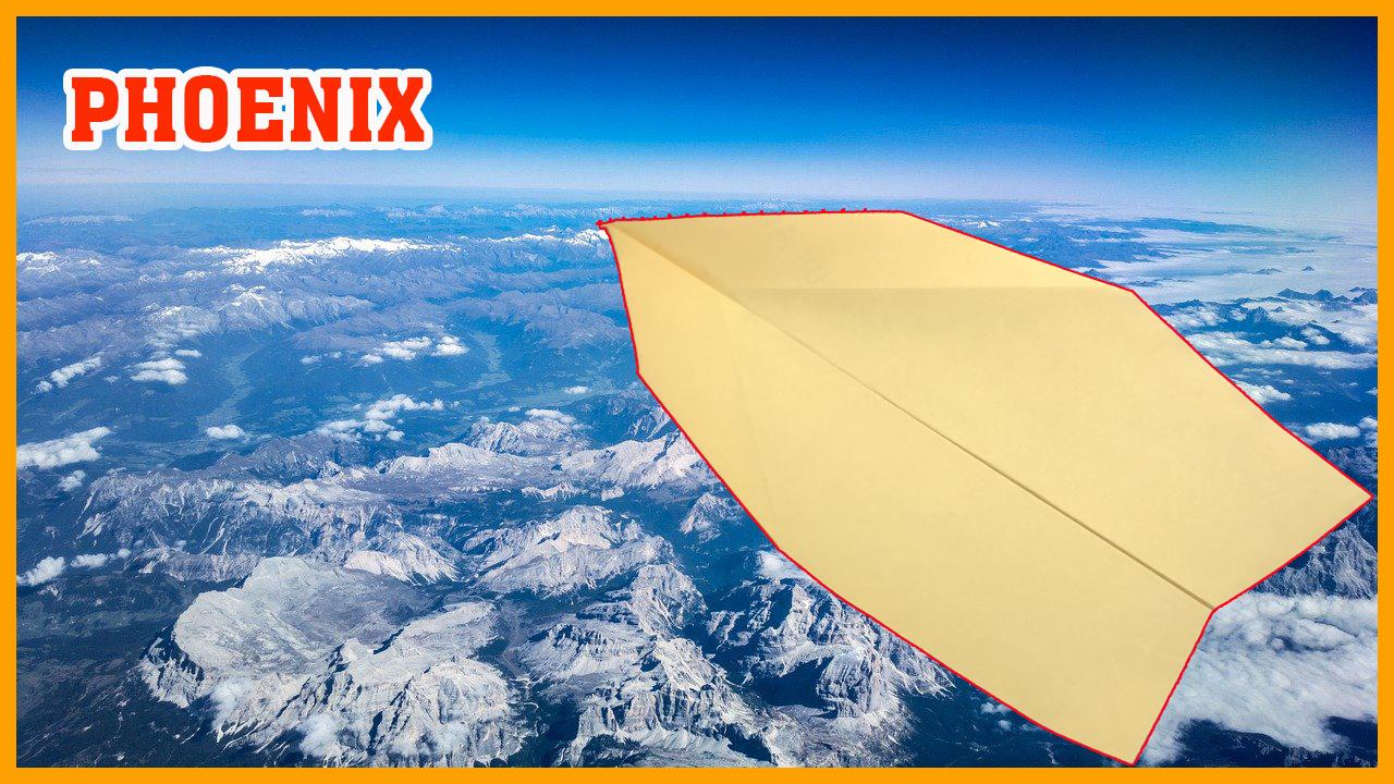 Cách gấp xếp máy bay giấy bay xa và rất tốt - Phoenix