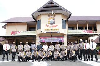Arahan Kapolda Sulsel Saat Kunjungan Kerja ke Polres Soppeng