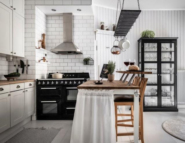 3 Cucine Bianche e Romantiche in stile Scandinavo – Copia lo stile