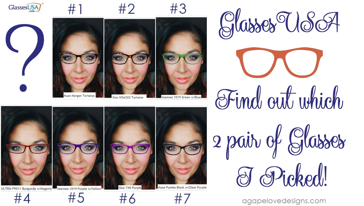 8cc8098b44 Agape Love Designs  Glasses Reveal