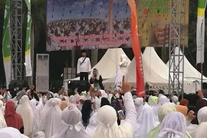 Titiek Soeharto Tiba di Monas, Panitia Munajat 212 Doakan Jadi Ibu Negara