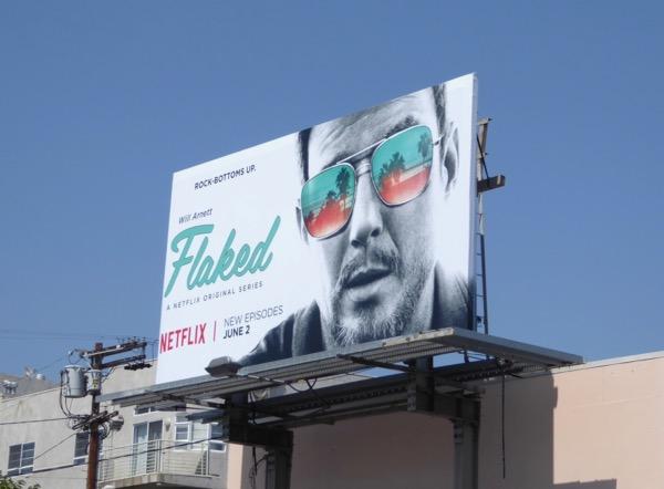 Flaked season 2 billboard