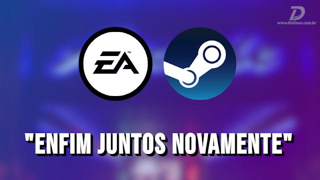 EA Games volta a vender seus games na Steam, depois de 8 anos