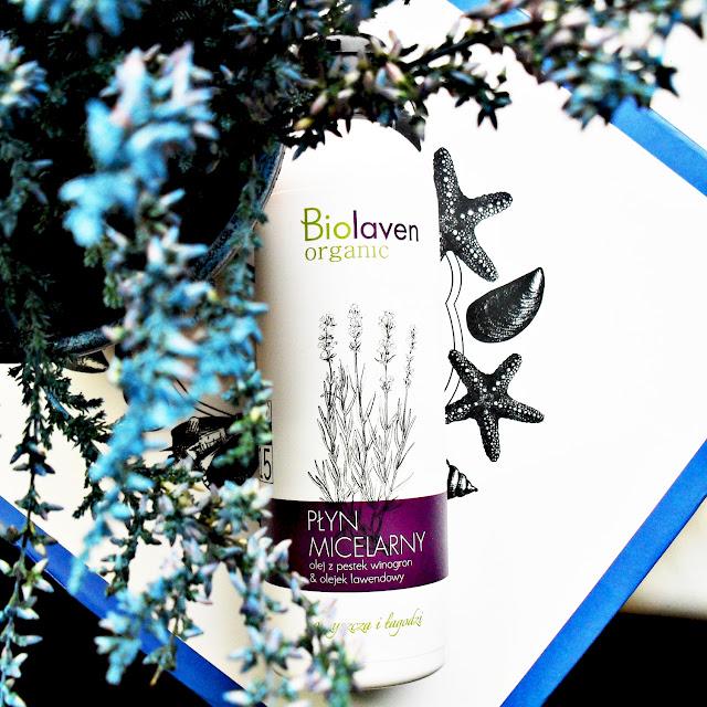 BIOLAVEN ORGANIC | Płyn micelarny | olej z pestek winogron i olejek lawendowy
