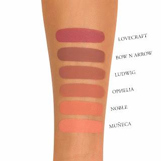 Kat Von D Liquid Lipstick Noble Swatch
