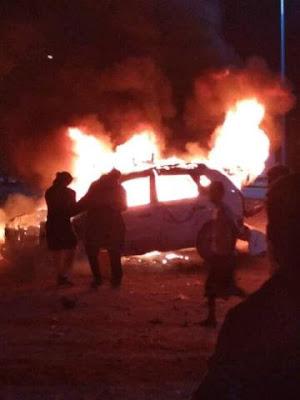 انفجار عنيف يهز مدينة عتق