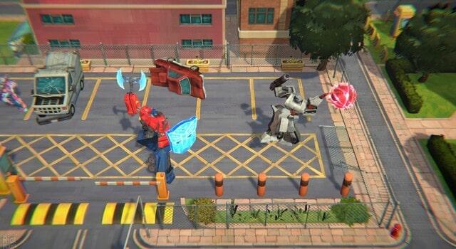 Transformers Battlegrounds Gameplay Images