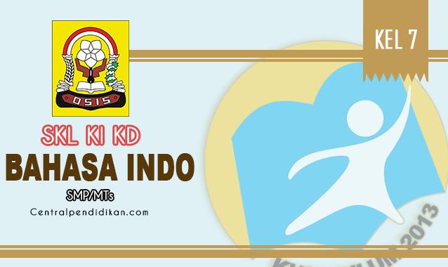 SKL, KI, & KD Bahasa Indonesia SMP Kelas 7 K13 Edisi Tahun 2021/2022