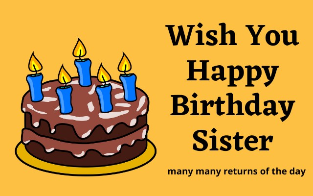 Happy Birthday Images Sister 51 Happy Birthday Wishes Images Photos Hd Download