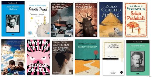 En çok okunan kitaplar - Türkiye ne okuyor?