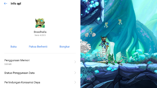 Total Size Game Brawlhalla Di Android Bisa Online Dan Offline