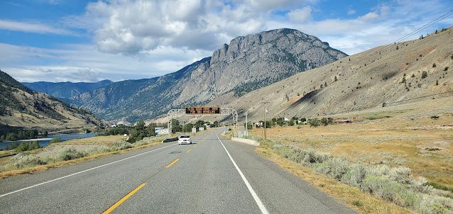 Trans Canada Highway Spences Bridge BC