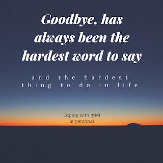Goodbye is never easy