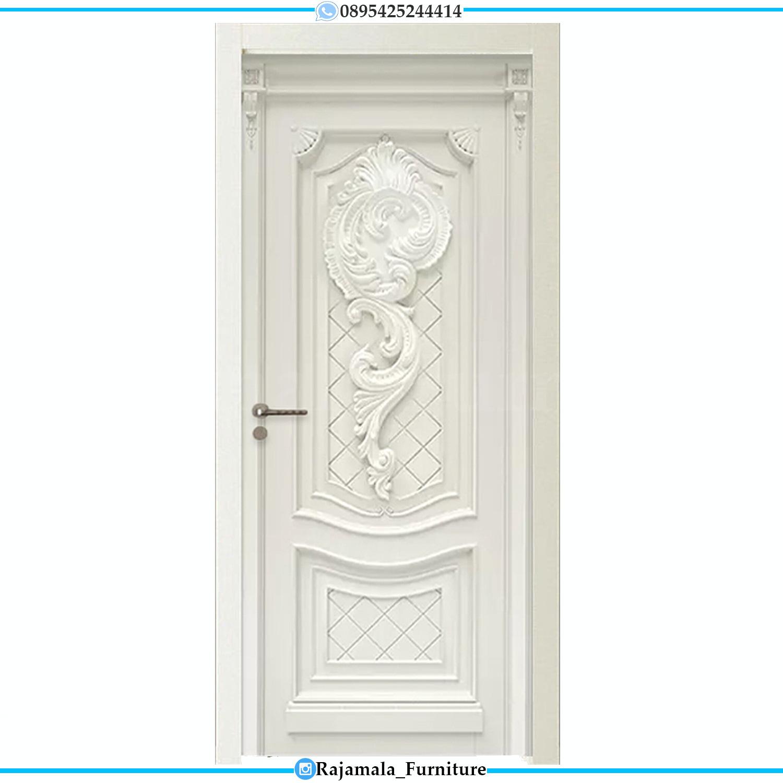 Furniture Jepara Pintu Rumah Mewah Minimalis Elegant Color RM-0207