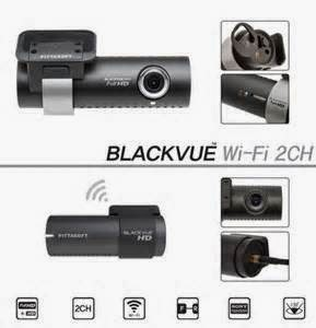 BlackVue DR550GW-2CH - Full Feature Dual Channel Kamera Dashboard