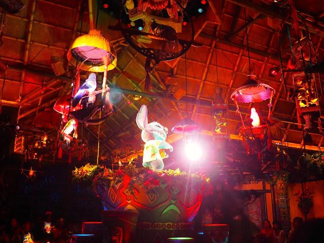 Stitch in the Enchanted Tiki Room, Tokyo Disneyland, Japan