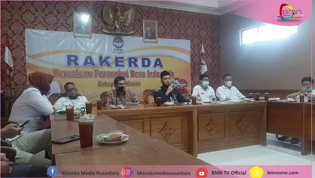 PPDI Klaten Gelar Rakerda Galang Dana Abdi untuk Jaminan Pensiun Perangkat Desa