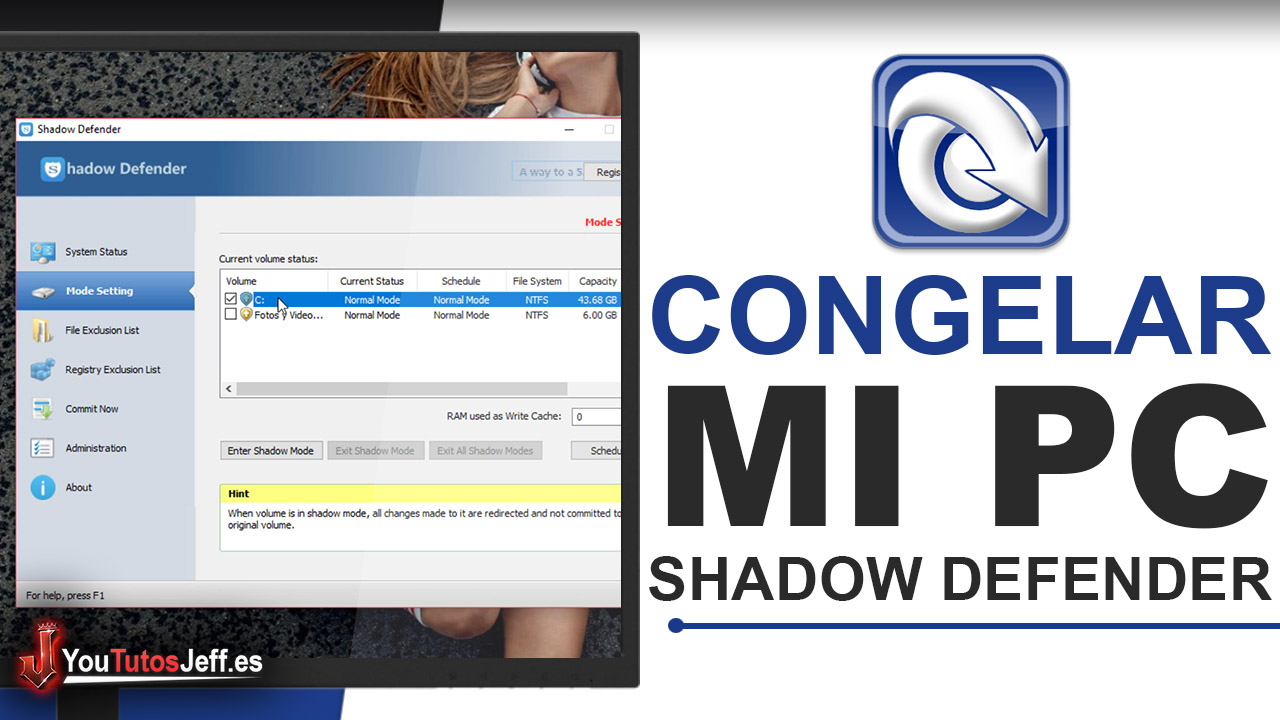 Como Congelar mi PC [Como Usar Shadow Defender] - Descargar Shadow Defender