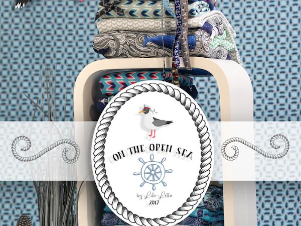 """Darf ich vorstellen ? Die neuen Webbänder aus der """"on the open sea""""- Kollektion !"""