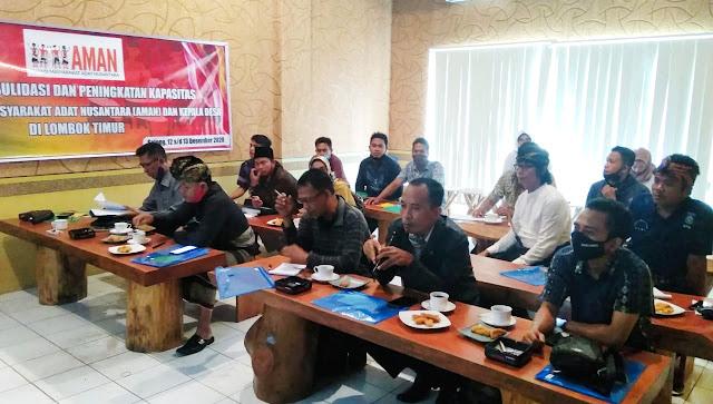 Penguatan kapasitas kader AMAN, bersinergi membangun desa berbasis masyarakat adat