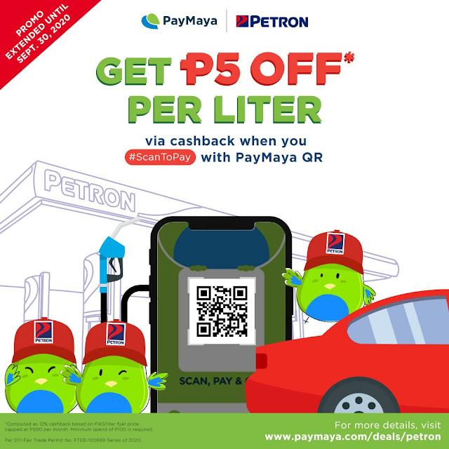 PayMaya - Petron - Discount
