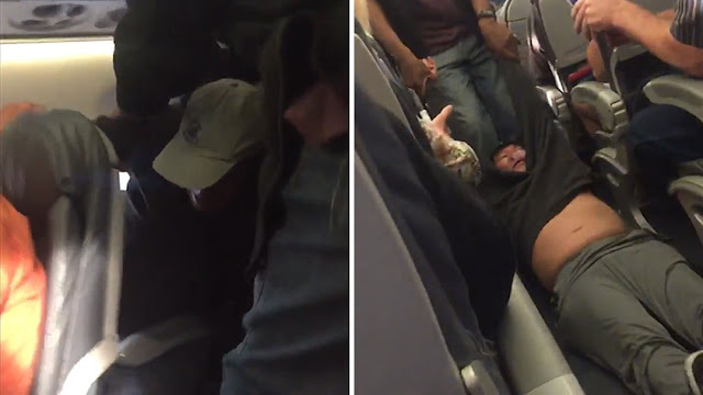 Pihak Penerbangan United Airlines Menyeret Paksa Keluar Seorang Penumpang