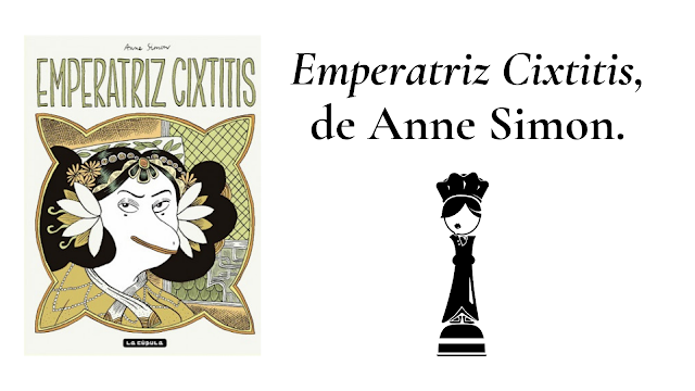 Reseña de libro Emperatriz Cixtitis un cómic feminista de La Cúpula