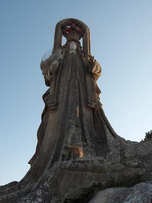 Virgen de la Roca - Baiona