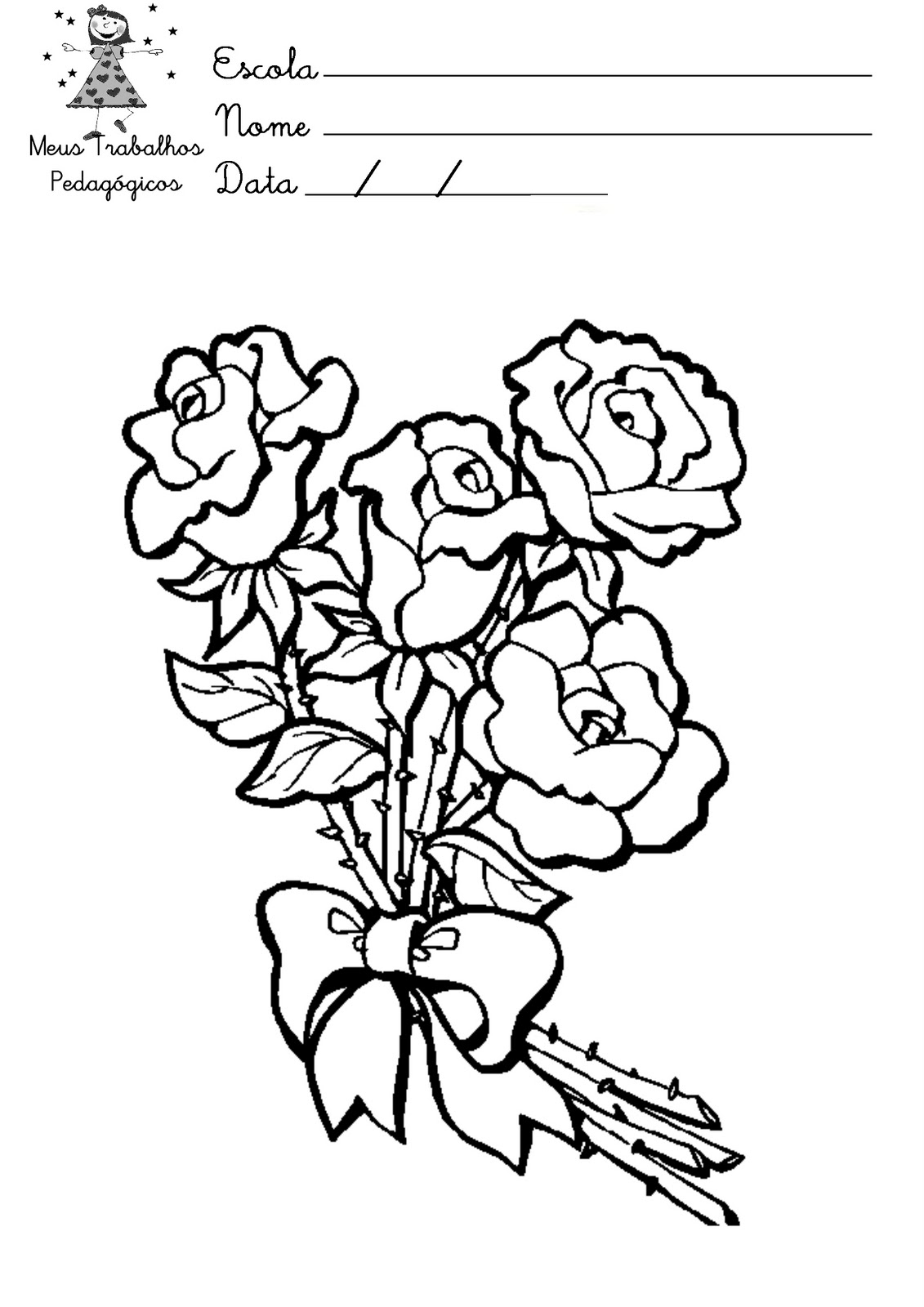 Pz C Desenhos Para Pintar