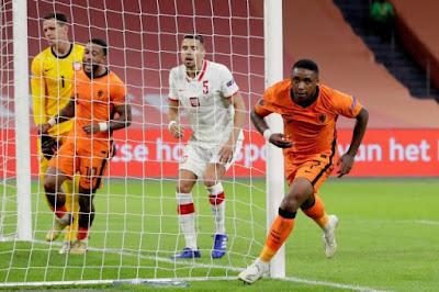 ملخص وهدف فوز هولندا علي بولندا (1-0) دوري الامم الاوروبيه