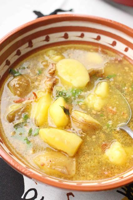 soupe espagne jambon safran