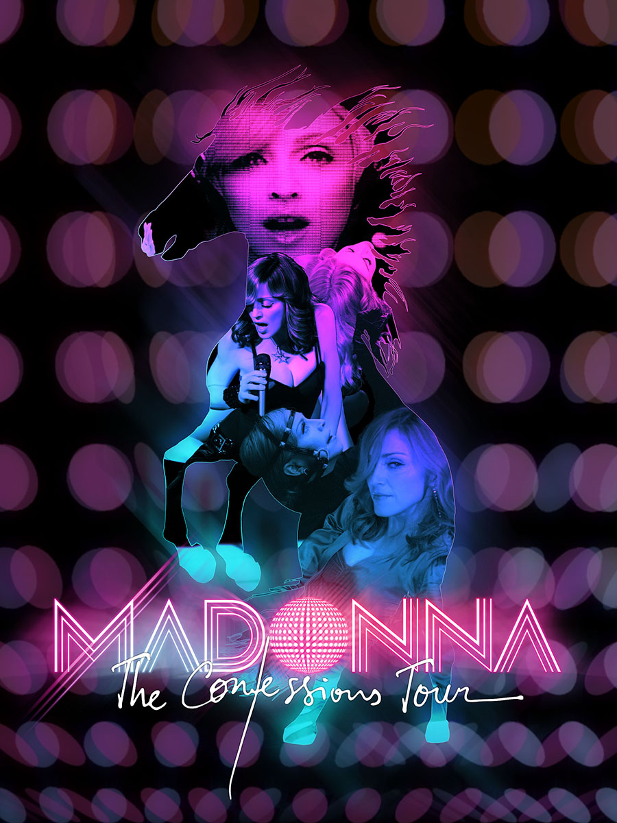 madonna confessions tour poster - photo #27