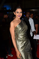 Rakul Preet Singh in Shining Glittering Golden Half Shoulder Gown at 64th Jio Filmfare Awards South ~  Exclusive 012.JPG