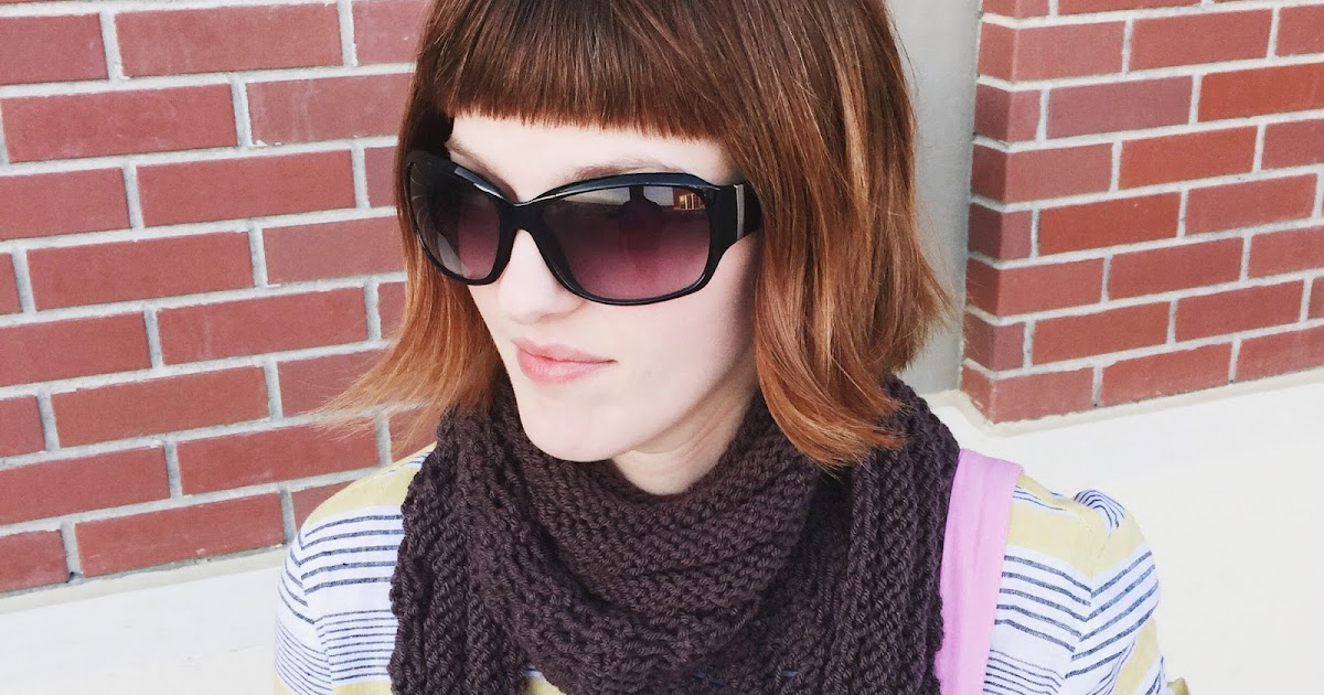 Knitting Pattern For Gallatin Scarf : SHE MAKES HATS: Gallatin Scarf
