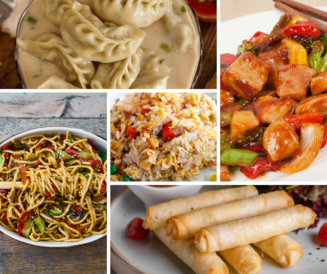 comida tipica china