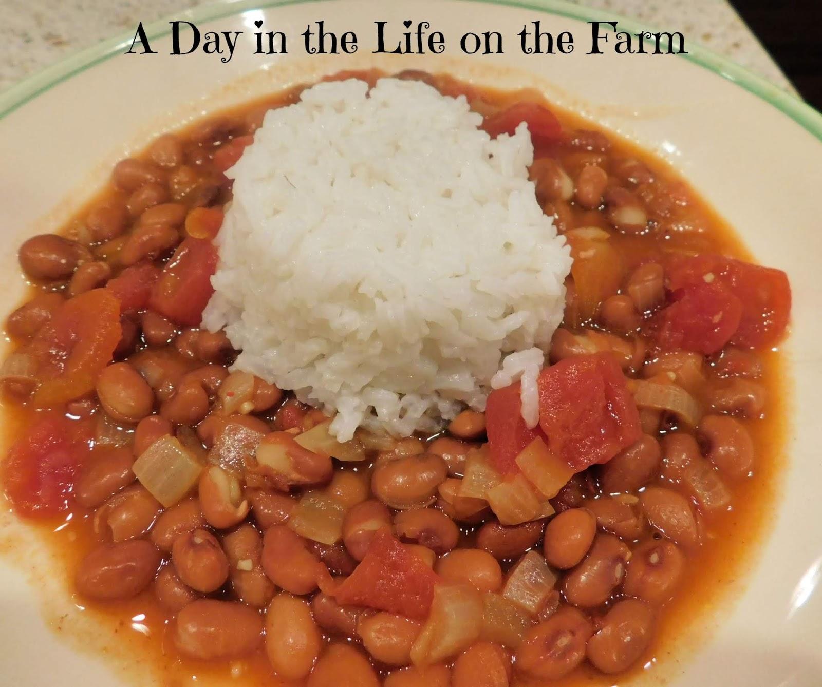 Menestra de Porotos (Bean Stew from Ecuador)