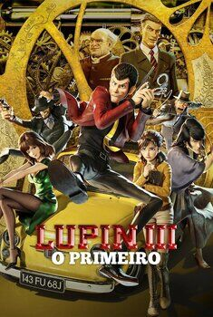 Lupin III: O Primeiro Torrent – WEB-DL 720p Dual Áudio