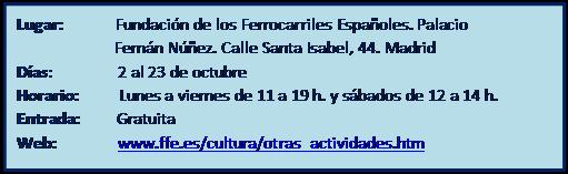 Exposición fotográfica 'Pasajes de Incertidumbre'