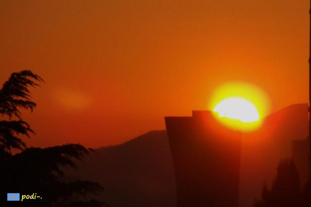 hotel porta fira, tramonto, hospitalet de llobregat, plaça d'Europa