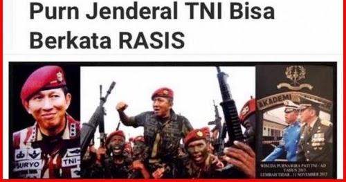 ... Jenderal Tukang Hasut Sekaligus Rasis Suryo Prabowo | BERANINEWS.COM