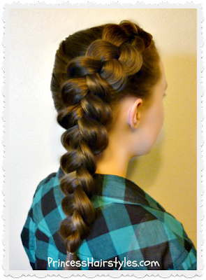 Voluminous Side Dutch Braid Tutorial